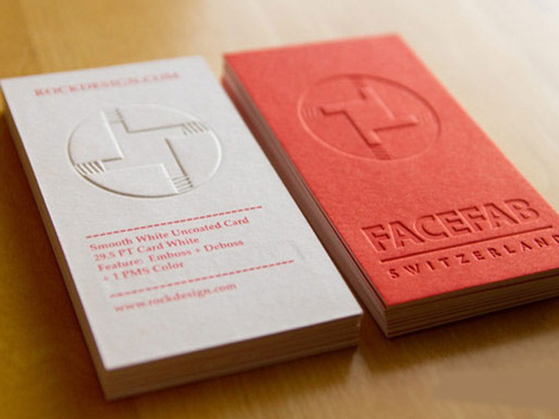 Letterpress business cards debossed business cards canada more views letterpress business cards colourmoves Gallery