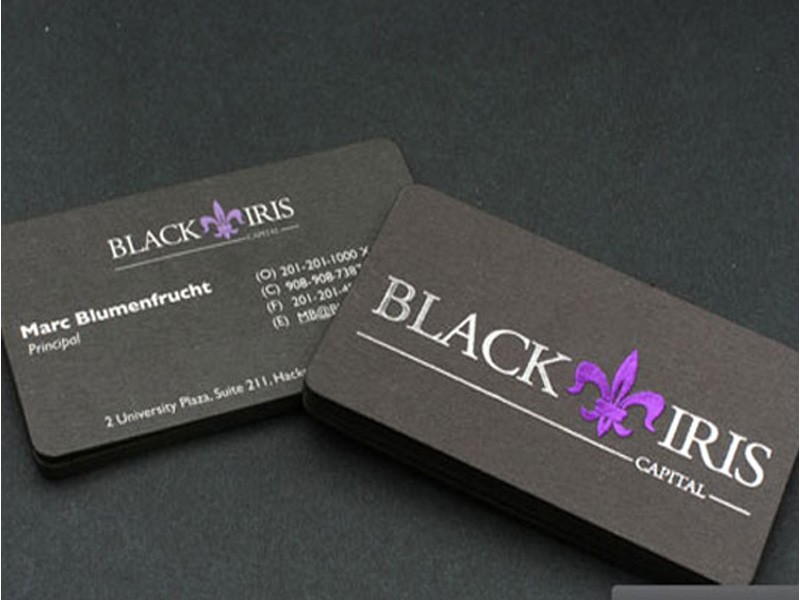 Foil stamping business cards foil stamping cards canada foil business cards 32pt reheart Images