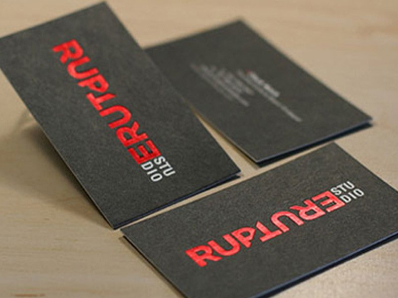 Hot Foil Stamping Business Cards | Hot Foil Stamping | Canada