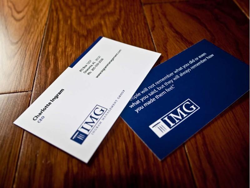 Matte Business Cards | Silk Business Cards | Canada