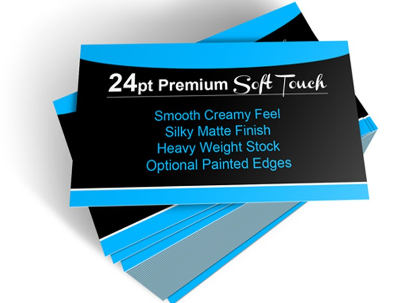 Soft Touch Business Cards | Soft Touch Cards | Canada