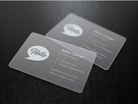 Plastic Business Cards - 16pt